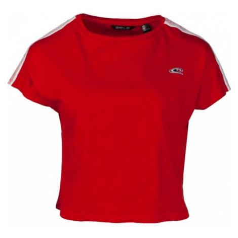 O'Neill LW WAVE CROPPED TEE czerwony XL - Koszulka damska