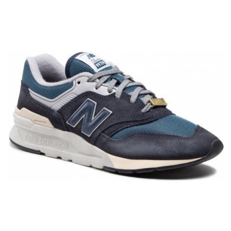 New Balance Sneakersy CM997HGC Granatowy