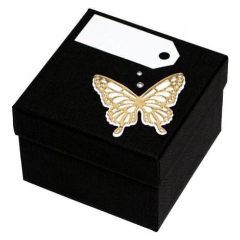 Giftisimo Luksusowy pudełko ze złotą muszką