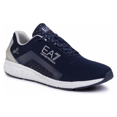 Sneakersy EA7 EMPORIO ARMANI - X8X053 XK044 M506 Navy/Silver