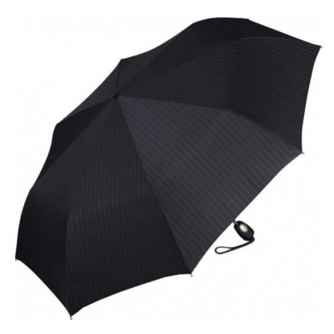 Esprit Męska parasolka Gents Mini Tecmatic Needle Stripe Black