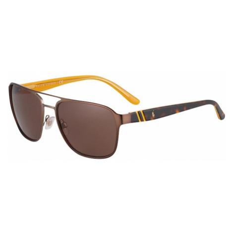 POLO RALPH LAUREN Okulary przeciwsłoneczne brązowy
