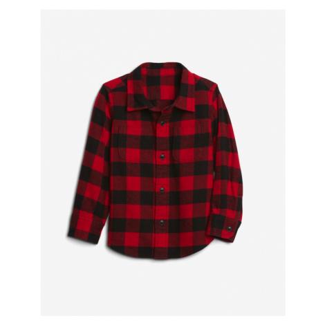 GAP Koszula dziecięca Czerwony