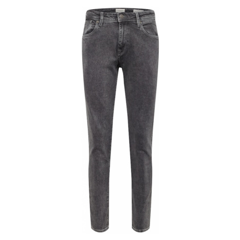 SELECTED HOMME Jeansy 'SLHSLIM-LEON 3011 GREY ST JEANS W NOOS' szary denim