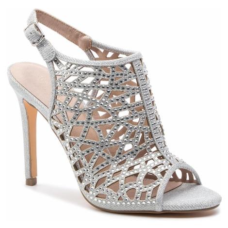 Sandały MENBUR - 20217 Silver 0009