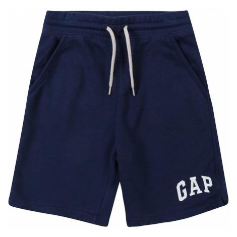 GAP Spodnie 'FT LOGO' niebieski