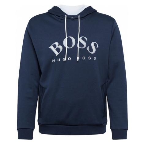 BOSS ATHLEISURE Bluzka sportowa 'Soody' granatowy / biały Hugo Boss