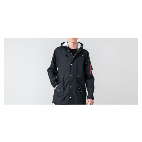 Alpha Industries Fishtail Raincoat Black