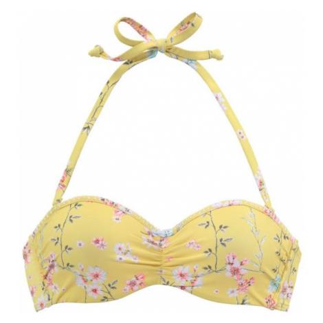 SUNSEEKER Góra bikini 'Ditsy' żółty / mieszane kolory