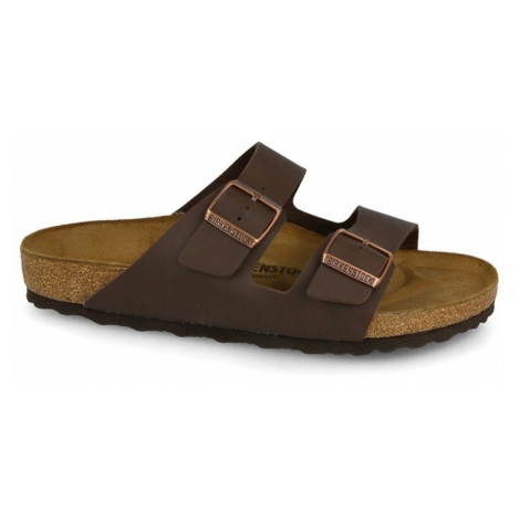 Klapki Birkenstock Arizona Dark Brown 0051701