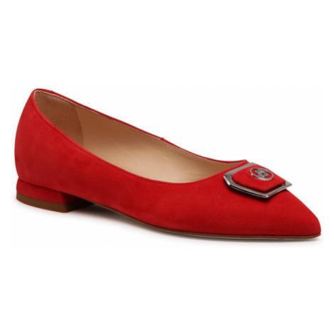 Solo Femme Półbuty 24301-01-G13/000-04-00 Czerwony