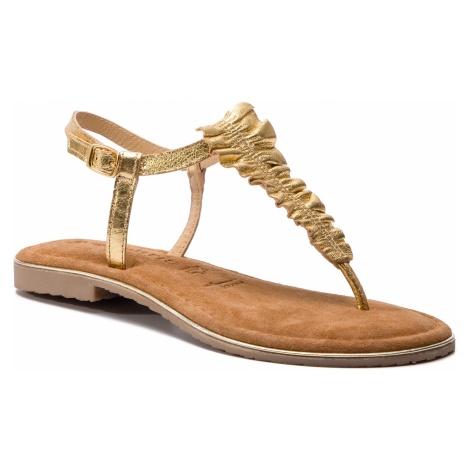 Sandały TAMARIS - 1-28143-22 Gold 940