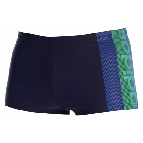 Adidas Lineage Graphic Swim Boxer Mens