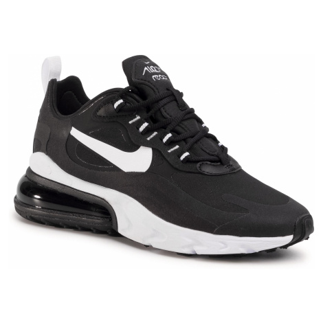 Buty NIKE - Air Max 270 React CI3899 002 Black/White/Black/Black