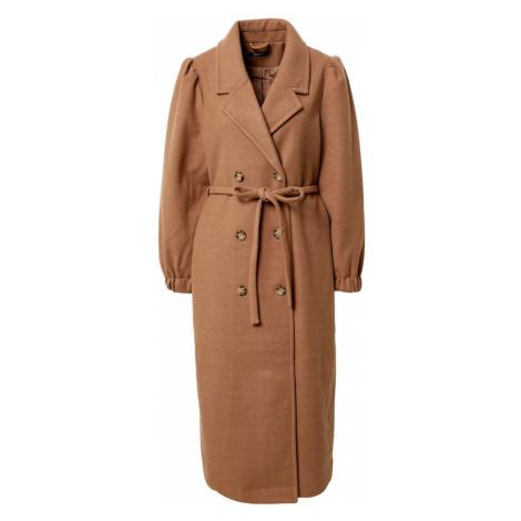 Gina Tricot Płaszcz przejściowy brązowy