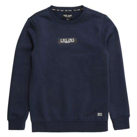 Cars Jeans Bluza 'HEMSER' granatowy / biały