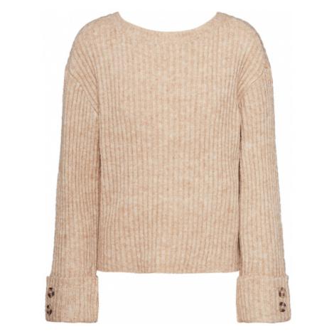 PIECES Sweter 'PCHUNA' kremowy
