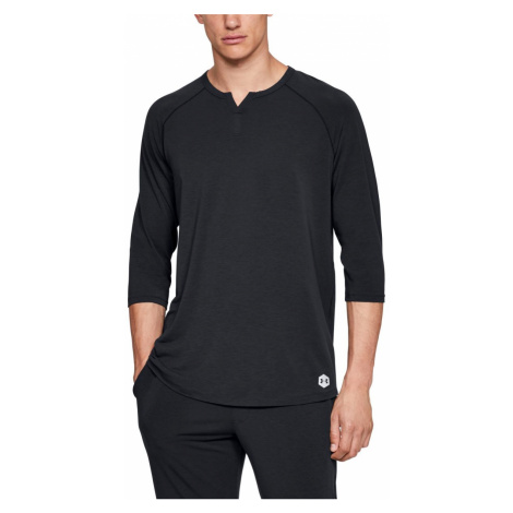 UA Recovery Sleepwear Henley-BLK Under Armour