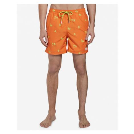 Tom Tailor Denim Strój kąpielowy Pomarańczowy
