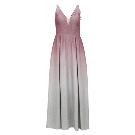 My Mascara Curves Suknia wieczorowa 'OMBRE FLOW' różowy pudrowy