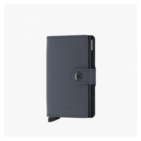 Portfel Secrid Miniwallet Matte MM-Grey-Black