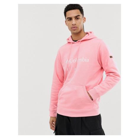 Columbia CSC Basic Logo II hoodie in pink