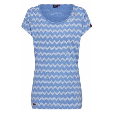 Ragwear Koszulka 'MINT ZIG ZAG' niebieski
