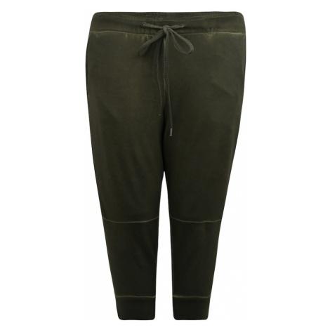 Junarose Spodnie oliwkowy