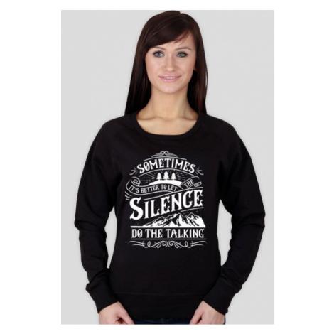 Bluza damska let the silence do the talking Mantis