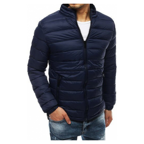 Navy blue men's quilted jacket TX3266 DStreet