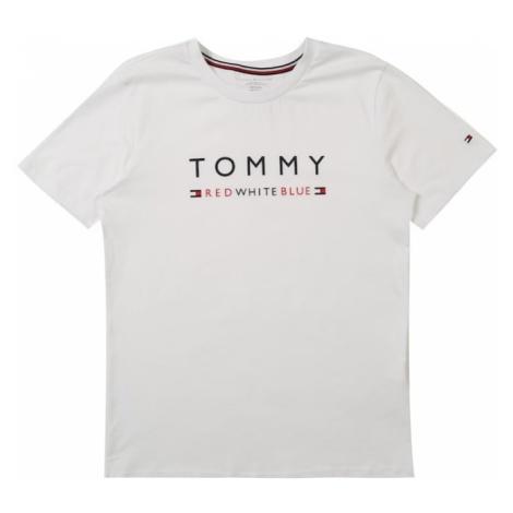 Tommy Hilfiger Underwear Koszulka 'SS TEE LOGO Boys' niebieski / biały