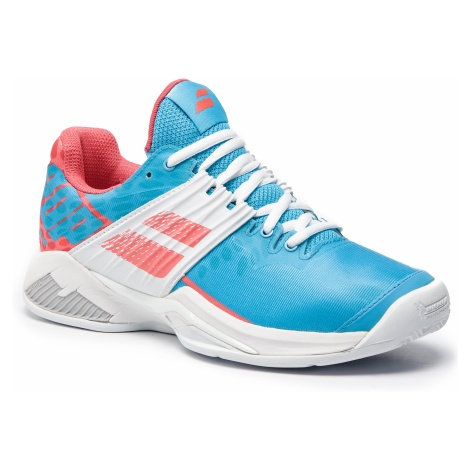 Buty BABOLAT - Propulse Fury Clay 31S19554 Sky Blue/Pink