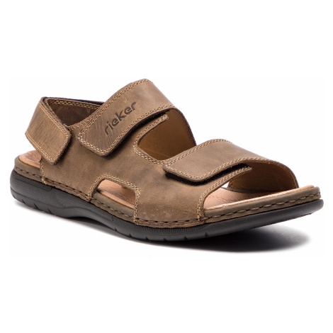 Sandały RIEKER - 25558-25 Braun