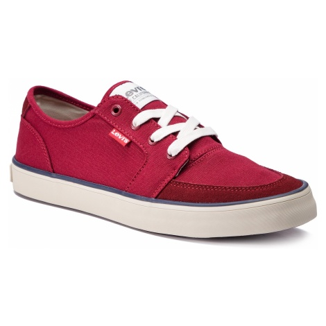 Tenisówki LEVI'S - 229805-733-86 Medium Red Levi´s