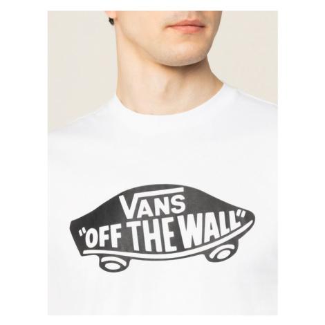 Vans T-Shirt Otw VN000JAYYB21 Biały Slim Fit