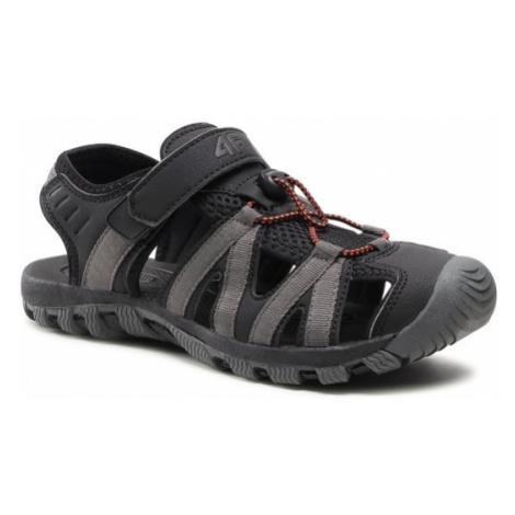 4F Sandały H4L21-SAM003 Czarny
