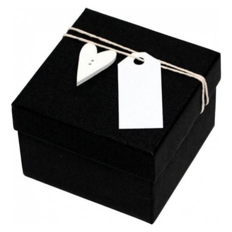 Giftisimo Luksusowy pudełko z drewnianymi z sercem