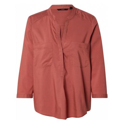 VERO MODA Bluzka 'VMTanya' pastelowa czerwień