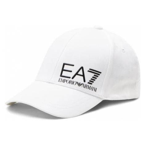 EA7 Emporio Armani Czapka z daszkiem 275936 1P103 00010 Biały