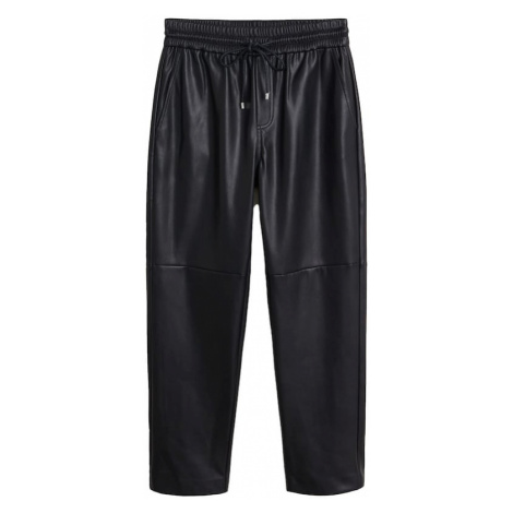MANGO Spodnie 'APPLE' czarny