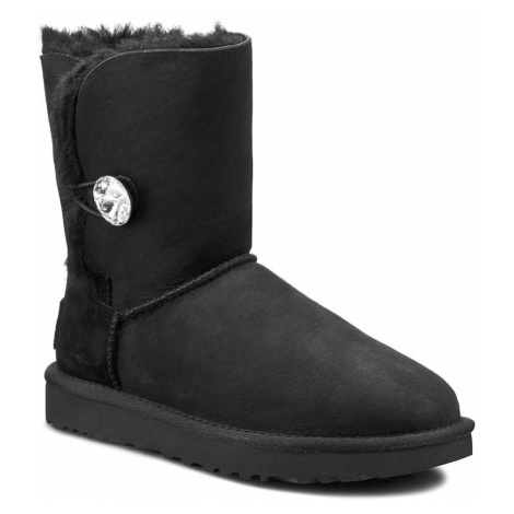 Buty UGG - W Bailey Button Bling 1016553 W/Blk