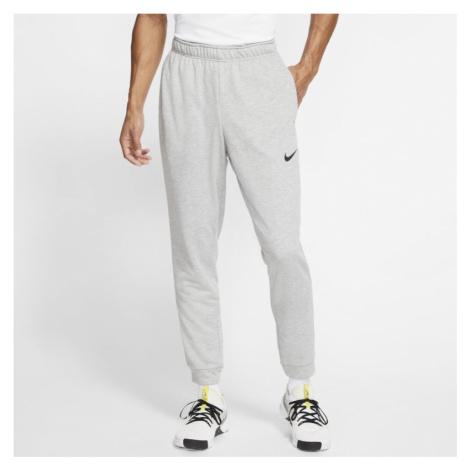 Męskie spodnie treningowe z dzianiny Nike Dri-FIT - Szary