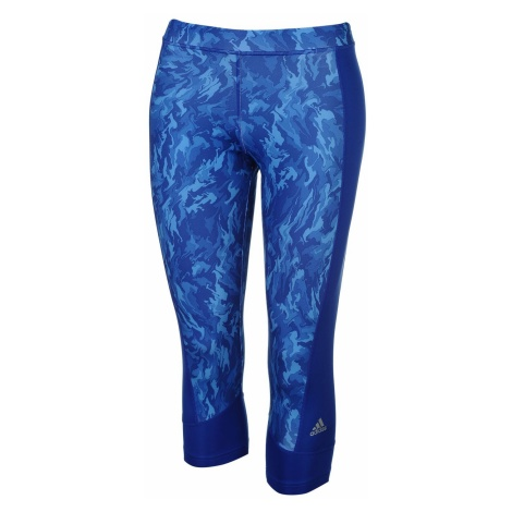adidas Tech Fit All Over Pattern Three Quarter Tights Womens