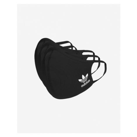 adidas Originals 3-pack Maseczka dziecięca Czarny