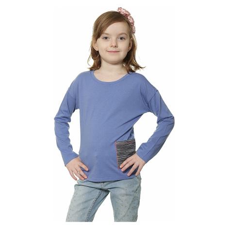 koszulka Roxy Flood Watch LS Kid's - PMK0/Light Denim