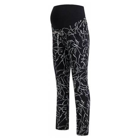 Supermom Spodnie 'Lines' biały / czarny