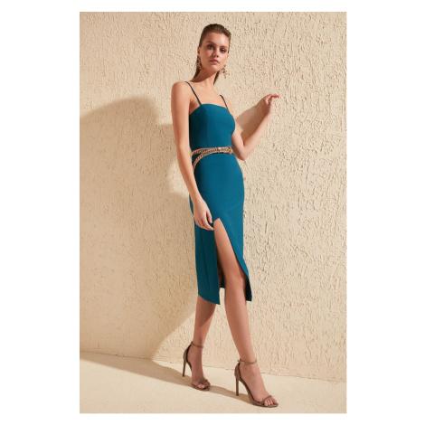 Trendyol Oil Slit Detail Dress