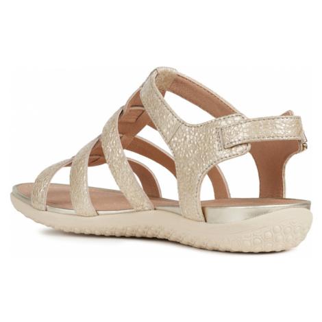 Geox Vega Sandały Beżowy