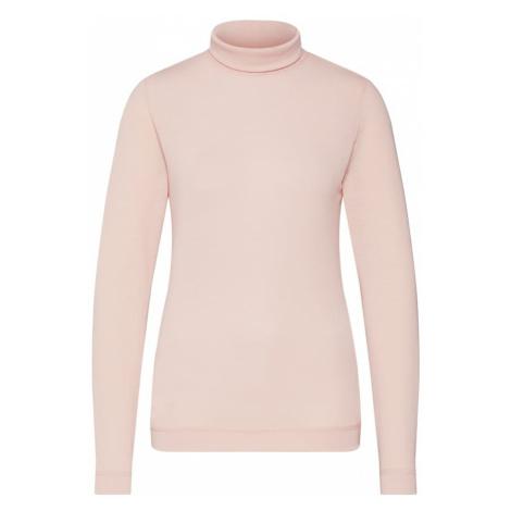 VILA Koszulka różowy pudrowy