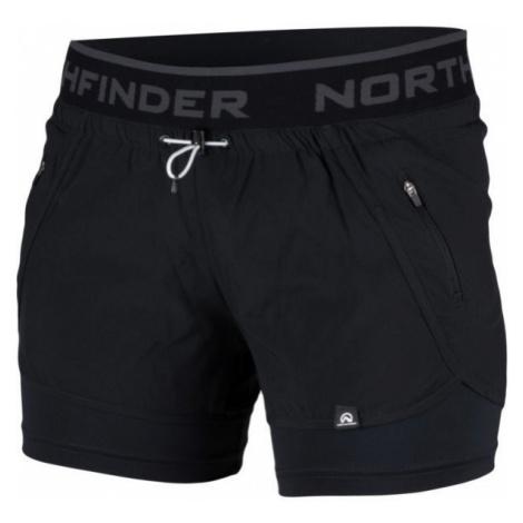 Northfinder HELEN czarny XL - Spodenki damskie